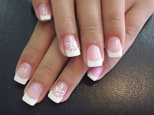 Nail designs acrylic blog nail art designs cute white flower acrylic nail glitter lines and stars nail design pink and black zebra nail design beautiful black and white nail prinsesfo Gallery